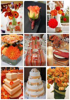 ATELIE FLOR DE AMORA: Casamento nos tons laranja -P