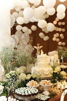 aniversário de 1 aninho-2 como receber em casa decoração mesas