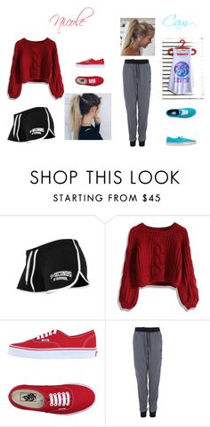 """""""outfit #12 (Story)"""" by ash-237 on Polyvore featuring Capelli New York, Chicwish, Vans and NIKE"""