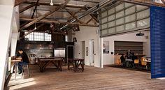 Workspace | Furnishings, lighting, spacial movements. IDEO San Francisco
