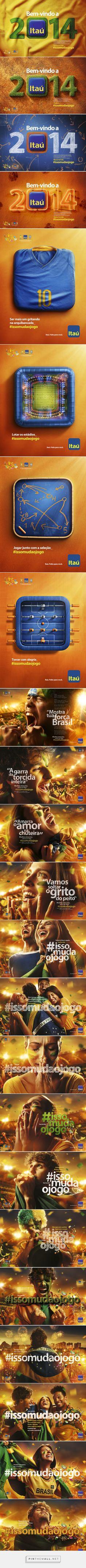 Copa do Mundo 2014 - Iron Brito. Advertising Sales, Advertising Poster, Tool Design, Web Design, Graphic Design, Banners, Identity Development, Ads Creative, Advertising Photography