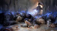 Send to Sleep - Magic Origins Art