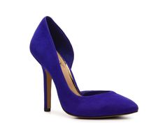 BCBG Paris Jaze Suede Pump | $59.95 Spring calls for color, and these pumps are the perfect pop for any outfit. via @stylelist