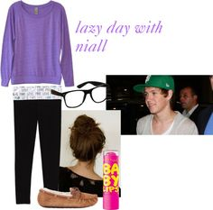 """lazy day with niall"" by rachel-starr-johnston on Polyvore"