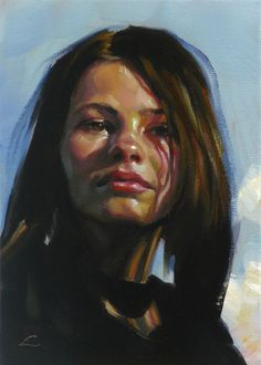 Artworks by John Larriva фото) Cool Art Drawings, Colorful Drawings, Art Pictures, Art Images, John Larriva, Pop Art Girl, Portrait Art, Painting Portraits, Pencil Portrait