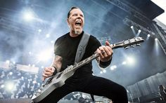 James Hetfield is one of my favorite guitar players & inspired me to learn more about music & how to read/play it