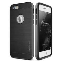 Original VRS Design® Apple iPhone 6/6s Handyhülle in der High Pro Shield Edition iPhone 6/6s Schutzhülle Case Cover Etui Steel Silver 24,90€
