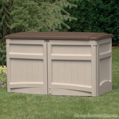 31 best Suncast Plastic Garden Storage Sheds and Boxes images on