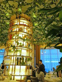 The beautiful interior at Frescobaldi Restaurant, Mayfair