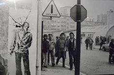 Ernest Pignon Ernest - Art Urbain - Grenoble.1976