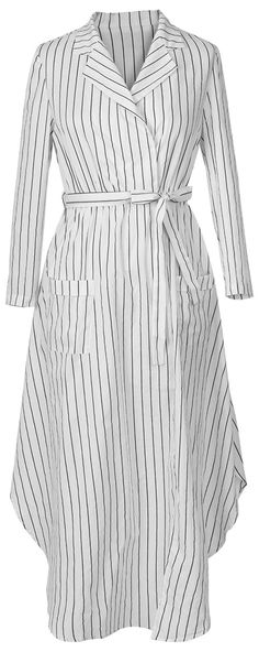 Casual and comfy, this one is a beautiful basic for your wardrobe. With the high-low design and stripe print, it can be a must-have piece. Cupshe.com will give you a gorgeous look!