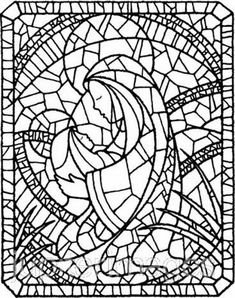 Use our Assumption Of The Blessed Virgin Mary coloring pages from our Glorious Mysteries Of The Rosary Coloring Pages to have fun in celebration of the Solemnity of the Assumption of Mary. Easter Coloring Pages, Christmas Coloring Pages, Colouring Pages, Printable Coloring Pages, Adult Coloring Pages, Coloring Sheets, Coloring Books, Stained Glass Designs, Stained Glass Patterns