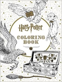Clumsy Doodle: Harry Potter Coloring Book