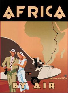 art deco africa word