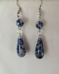Sodalite Earrings by Earthcentricity on Etsy