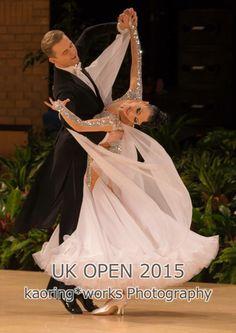 Love the arm detail. So beautiful in white! #BallroomDance #dancesport