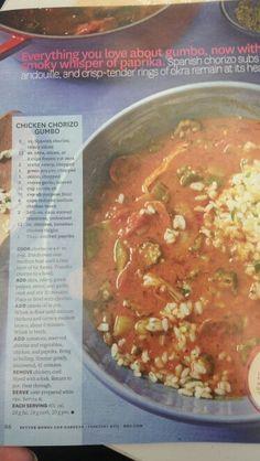 Chorizo  Gumbo!