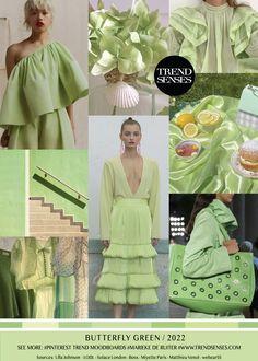Trendmoodboards – Trendsenses Fashion Colours, Green Fashion, Colorful Fashion, Look Fashion, Spring Summer Trends, Summer Fashion Trends, Spring Summer Fashion, Spring Outfits, Spring Style