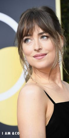 """17 Wispy Bangs Styles From Celebs Whose Bangs Are Always """" Too Good"""" We're taking hairstyle cues from celebs that always have the best bangs. Here are some of our favorite celebrities who embrace their wispy bangs enough to convince you to get your own. Messy Bangs, Long Bangs, Hair Bangs, Wispy Bangs Round Face, Bangs Medium Hair, Wispy Fringe Bangs, Round Face Fringe, Hair Cuts Fringe, Fringes For Round Faces"""