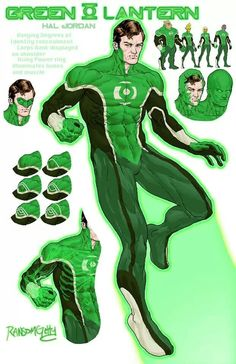 Green Lantern redesign (complete with optional identity protection, Corps' rank indicator, and glowing inner bits when ring is being used) by Michael Ransom Getty Comic Book Characters, Comic Books Art, Comic Art, Book Art, Young Avengers, New Avengers, Orange Lanterns, Green Lantern Comics, Character Art