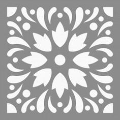 Printable Stencil Patterns, Wall Stencil Patterns, Stencil Templates, Stencil Designs, Stencil Rosa, Rose Stencil, Stencil Art, Cool Stencils, Mandala Stencils