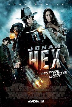 """Jonah Hex (2010) - tagline: """"Revenge gets ugly"""""""
