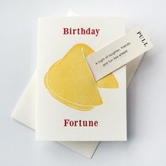 Birthday Card - Fortune Cookie Birthday - Feel Old . - Letterpress Birthday Card – Fortune Cookie Birthday – Feel Old -Letterpress Birthday Card - Fortune Cookie Birthday - Feel Old . - Letterpress Birthday Card – Fortune Cookie Birthday – Feel Old - Cool Cards, Diy Cards, Cumpleaños Diy, Tarjetas Diy, Birthday Card Design, Creative Birthday Cards, Funny Birthday Cards, Diy Birthday Cards For Best Friend, Friend Birthday Card