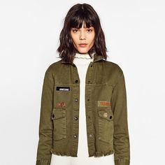 1cfa5df1fda Vintage Army Bomber Jacket women fashion Military short basic