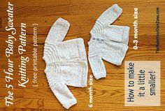 Another 5 hour baby sweater knitting pattern baby sweaters 5 hour knit baby sweater a little smaller dt1010fo
