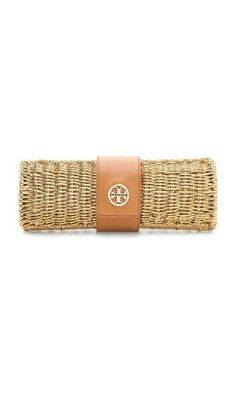 ❤ this Straw Clutch
