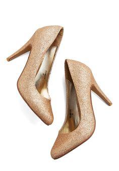 Sparkle an Interest Heel | Mod Retro Vintage Heels | ModCloth.com