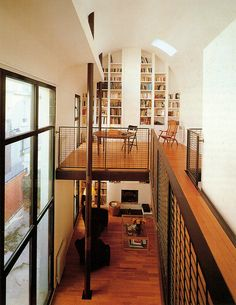Like the floor to ceiling window, the home library upstairs, and the fact that it's open