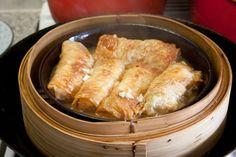 3 hungry tummies: Fu Pei Guen 腐皮卷 Beancurd Skin Rolls - Yum Cha Special 3