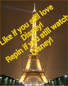 I like phineas and ferb. :) But...why is the eiffel tower is in the backround?????