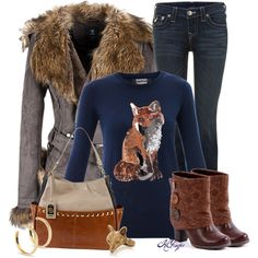 """Feeling Foxy Contest 2"" by kginger on Polyvore"