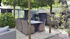 Tuinset landelijke sobere stijl Go Outside, Gardening Tips, Patio, Outdoor Decor, Instagram, Home Decor, Decor Ideas, Black, Decoration Home
