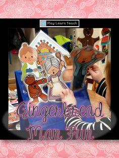 Gingerbread Man in Preschool