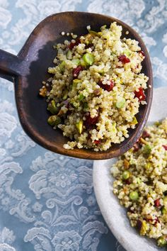 Quinoa Recipes Collection , Quinoa Salad with Sherry Vinaigrette