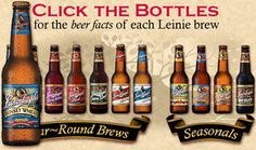 Leinenkugel beers are all just delicious.