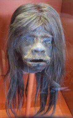 Shrunken Head at Redpath Museum. Image: Natalia Toronchuk © Redpath Museum 2012