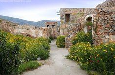 Spinalonga islet, former leper colony, East Crete
