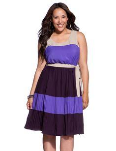Colorblock Tank Dress - Women's Dresses & Plus Size Dresses - eloquii by The Limited