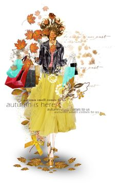 """""""Autumn Shopping"""" by fashionista1864 ❤ liked on Polyvore featuring art"""