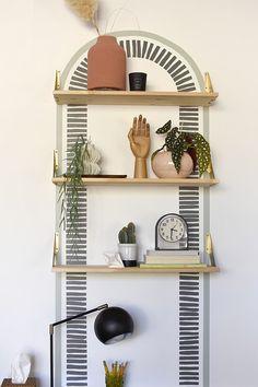 Bedroom Wall, Bedroom Decor, Diy Wall Painting, Diy Interior Painting, Diy Home Accessories, Interior Decorating, Interior Design, My Living Room, My New Room