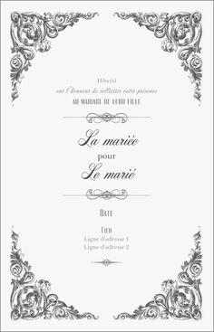 Faire-part de mariage, modèles de Faire-part de mariage, personnalisation de Faire-part de mariage Page 6 | Vistaprint
