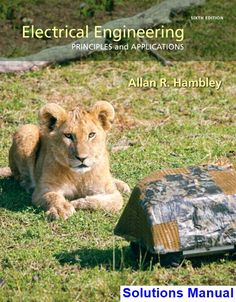 Basic electrical engineering by bakshi gives a strong review of solutions manual for electrical engineering principlesand applications 6th edition by hambley ibsn 9780133413984 fandeluxe Gallery