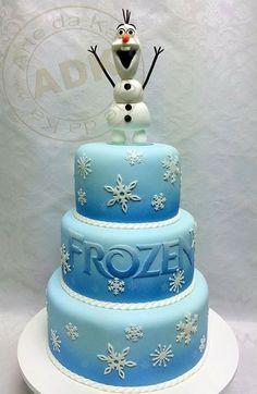 Disney's Frozen Olaf cake
