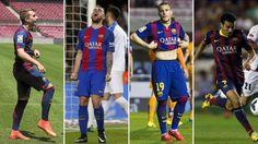 FC Barcelona: Delantero, profesión de riesgo en el Barcelona   Marca.com http://www.marca.com/futbol/barcelona/2017/07/02/59577cf4468aebca1e8b4582.html