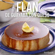 Flan Dessert, Flan Cake, Custard Desserts, Dessert Cake Recipes, Delicious Desserts, Yummy Food, Tasty, Jello Recipes, Mexican Food Recipes