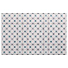 Red and Blue Plaid pattern Fabric